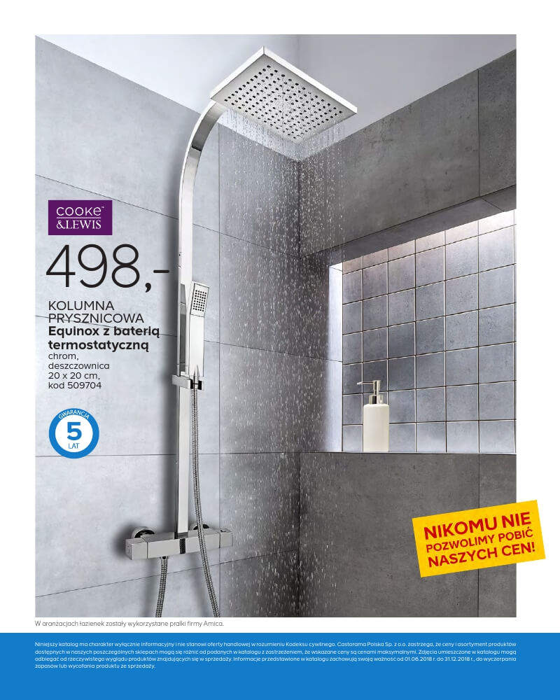 Castorama Katalog łazienka 2018