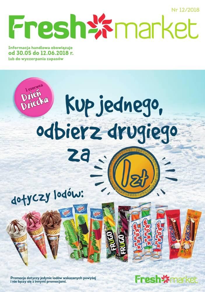 Fresh Market, gazetka do 12.06.2018  s1