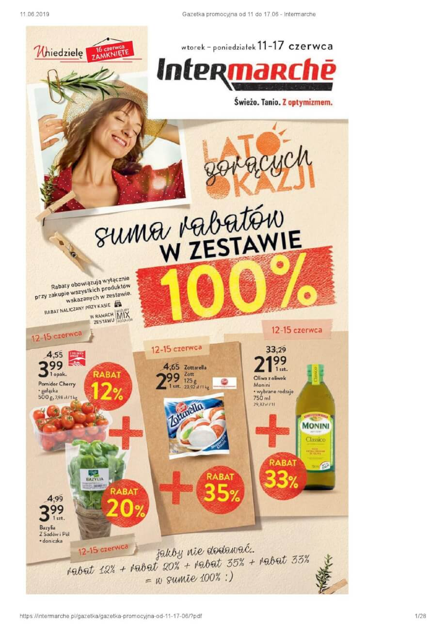 Intermarche, gazetka do 17.06.2019  s1