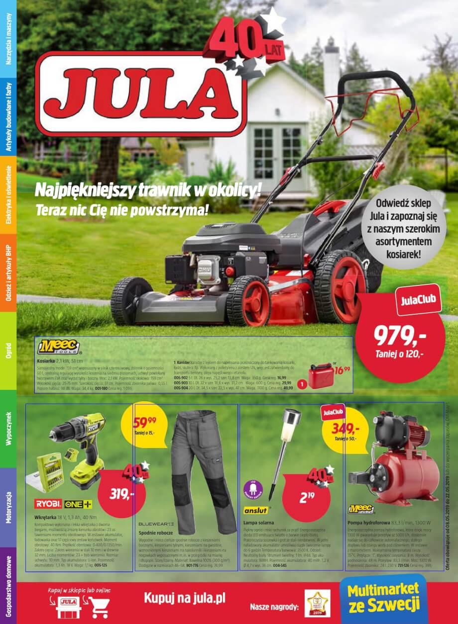 Jula, gazetka do 22.05.2019  s1