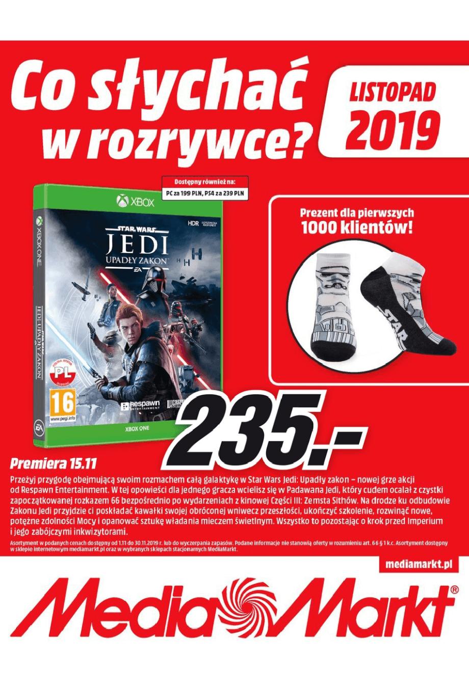 Media Markt, gazetka do 30.11.2019  s1