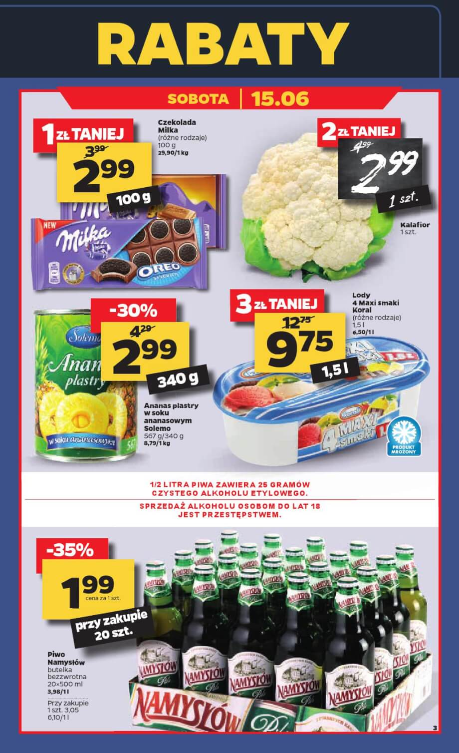 Netto, gazetka do 15.06.2019 str.3  s3