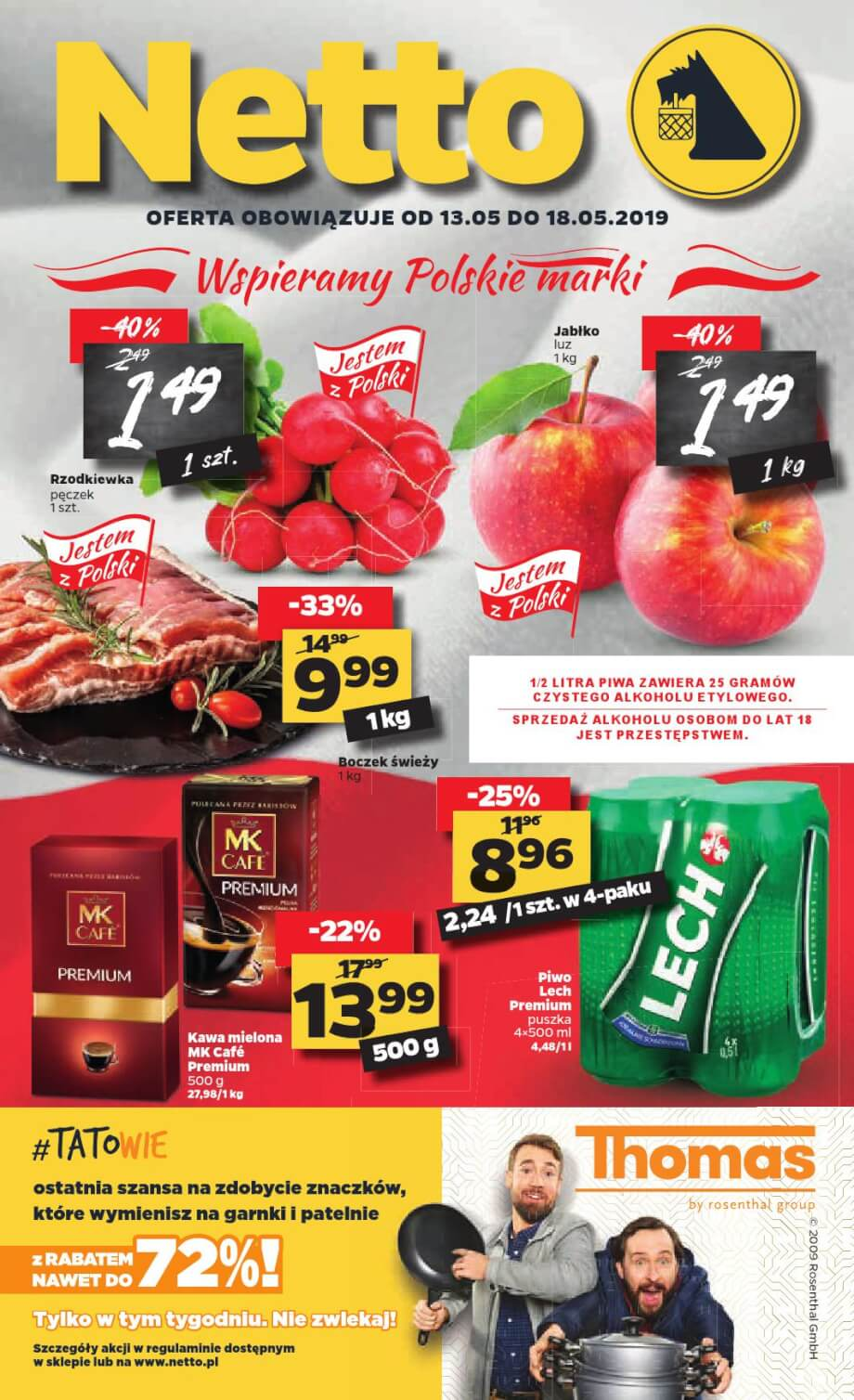 Netto, gazetka do 18.05.2019  s1