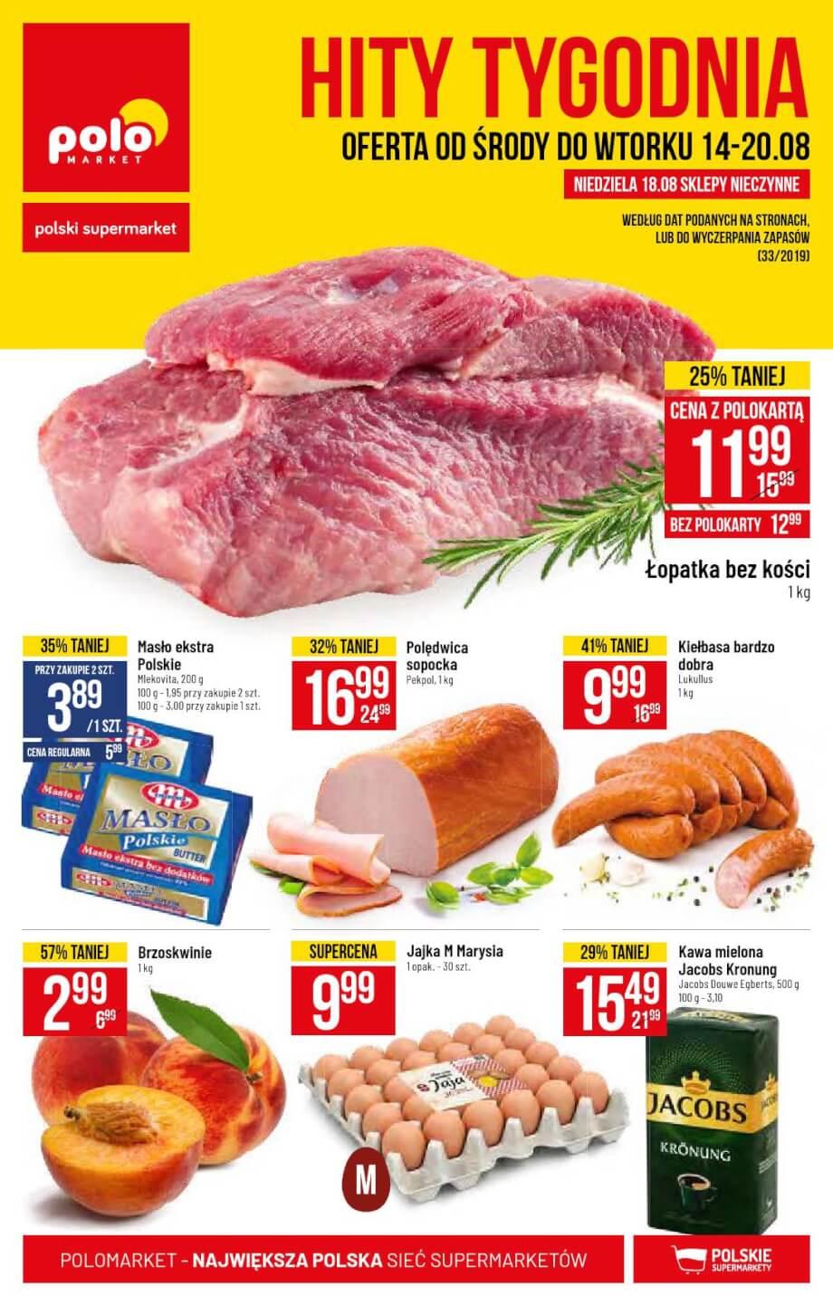 Polomarket, gazetka do 20.08.2019  s1