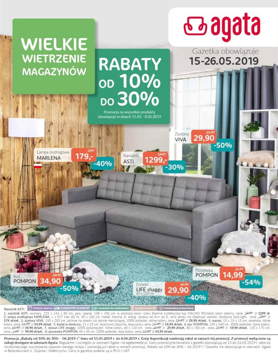 Agata, gazetka do 26.05.2019  s1