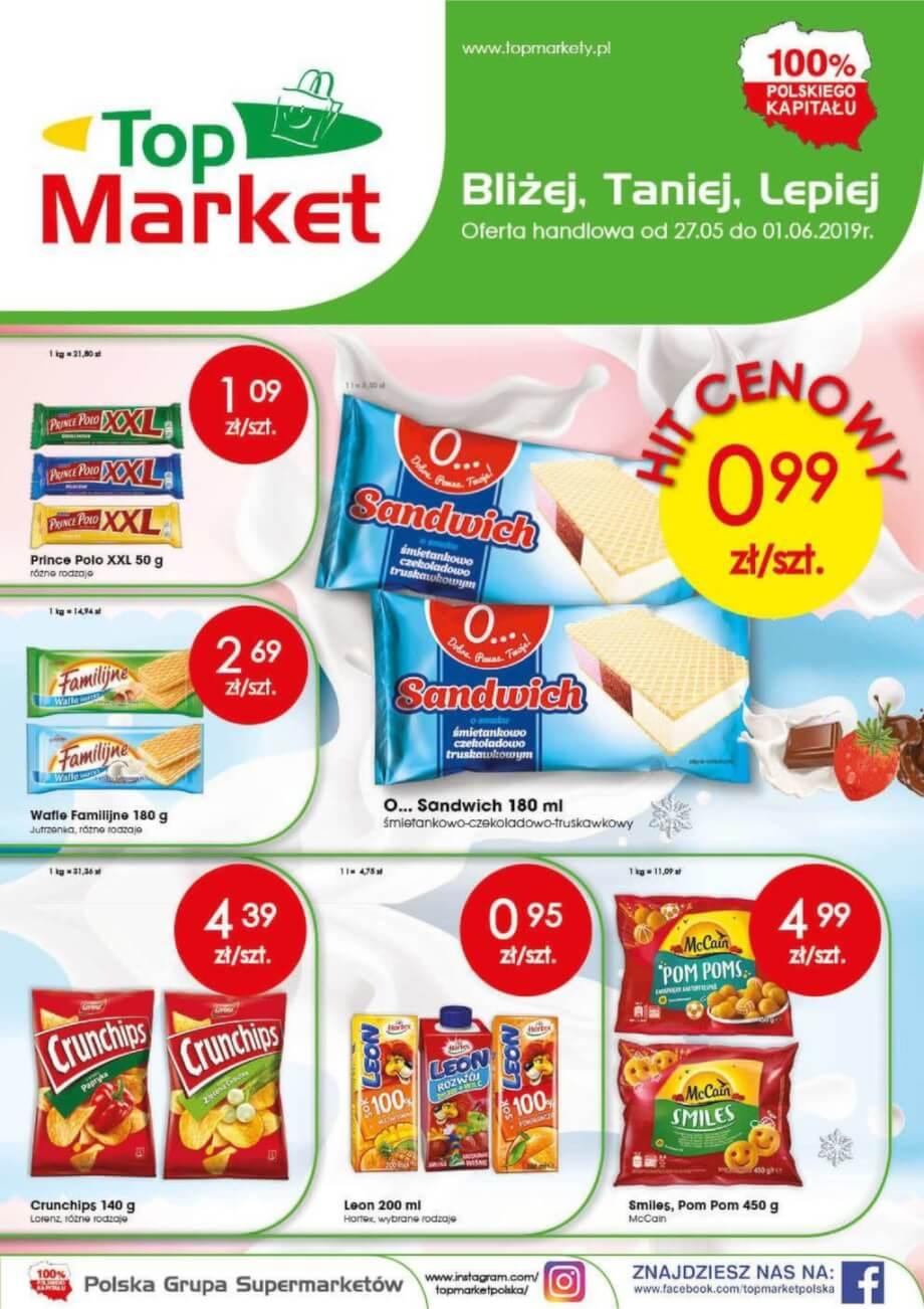 Top Market, gazetka do 01.06.2019  s1