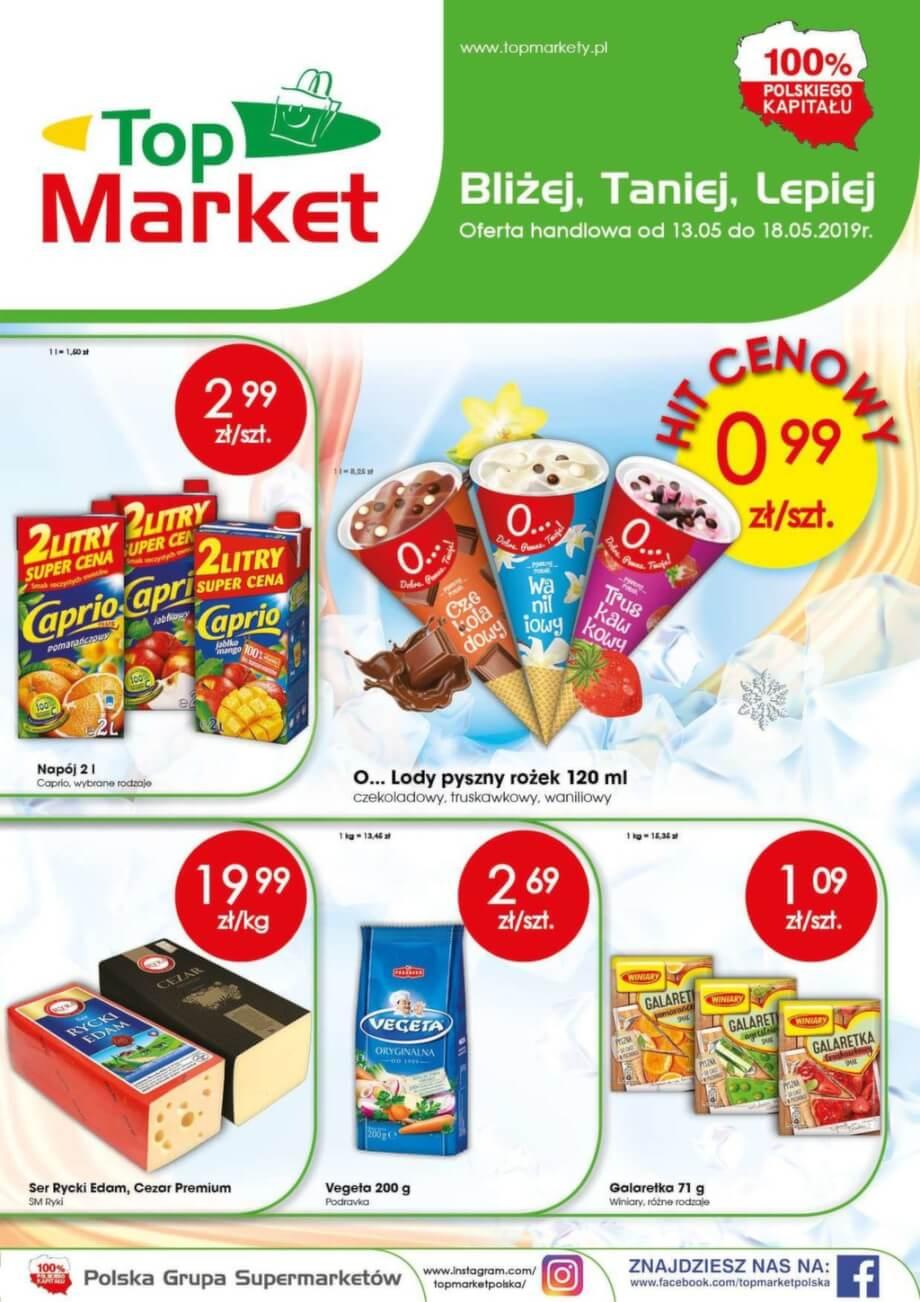Top Market, gazetka do 18.05.2019  s1
