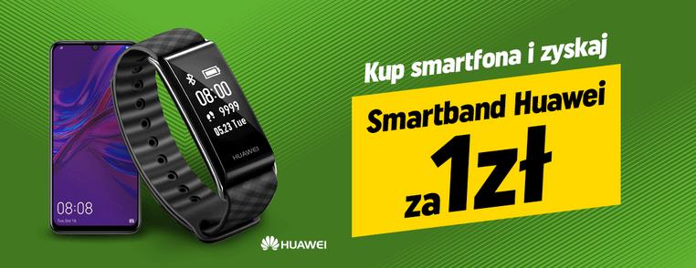 Kup smartfona i zyskaj Smartband za 1 zł w Neonet.