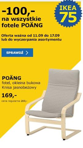 Wszystkie fotele Poang.