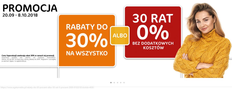 Rabat 30% na wszystko