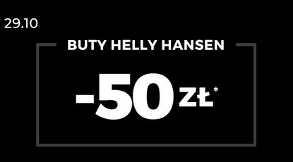 Rabat na wybrane buty Helly Hansen W sklepach Sizzer.