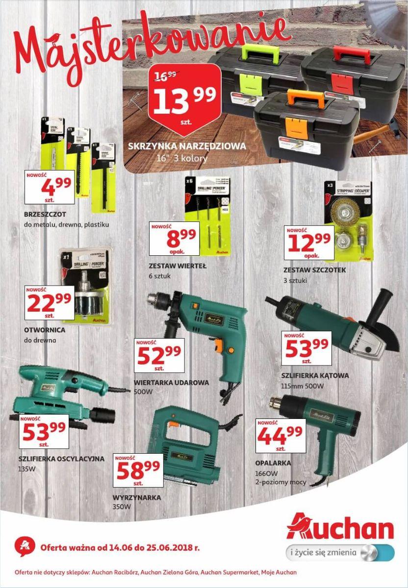 Auchan, gazetka do 25.06.2018