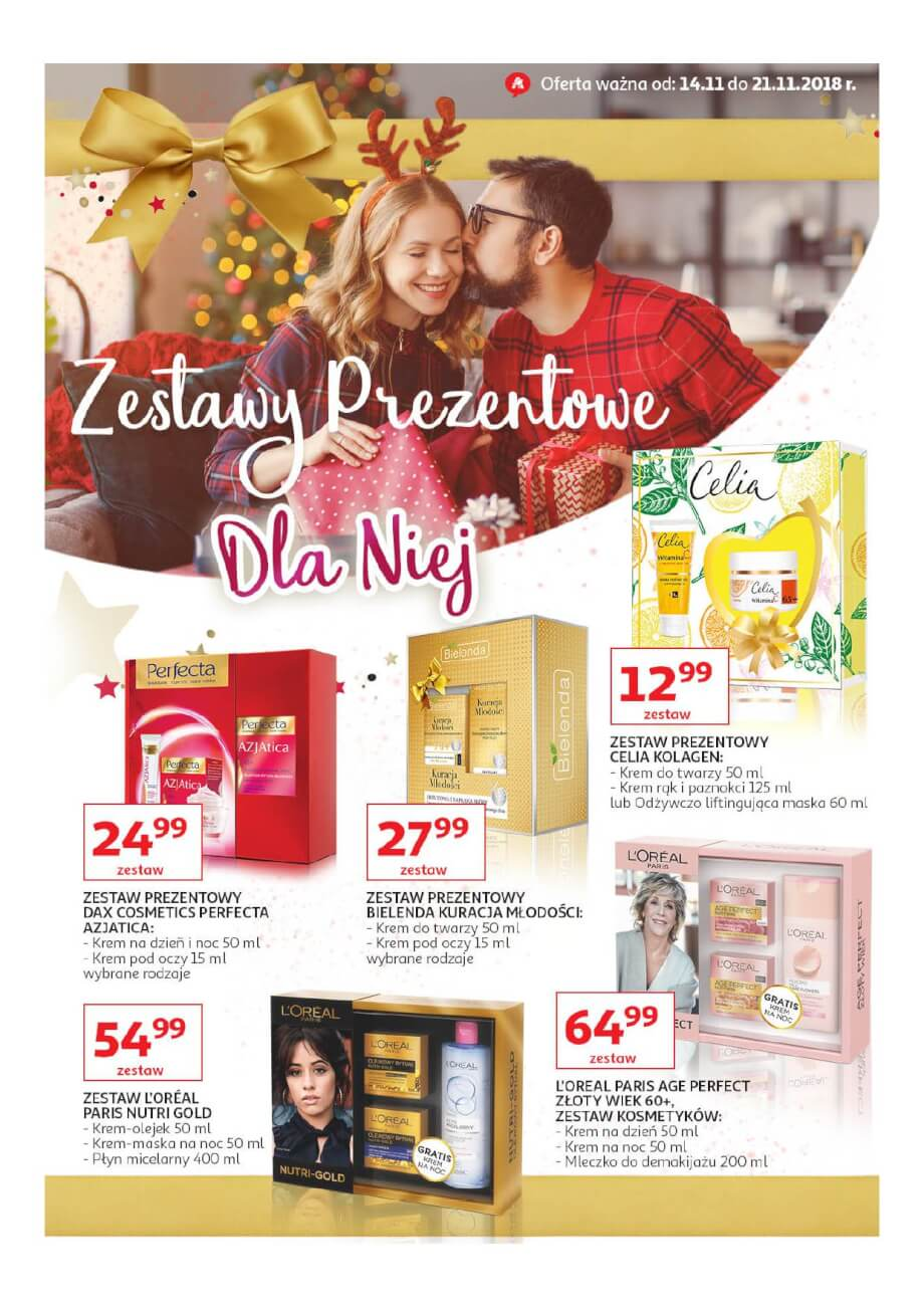 Auchan, gazetka do 21.11.2018