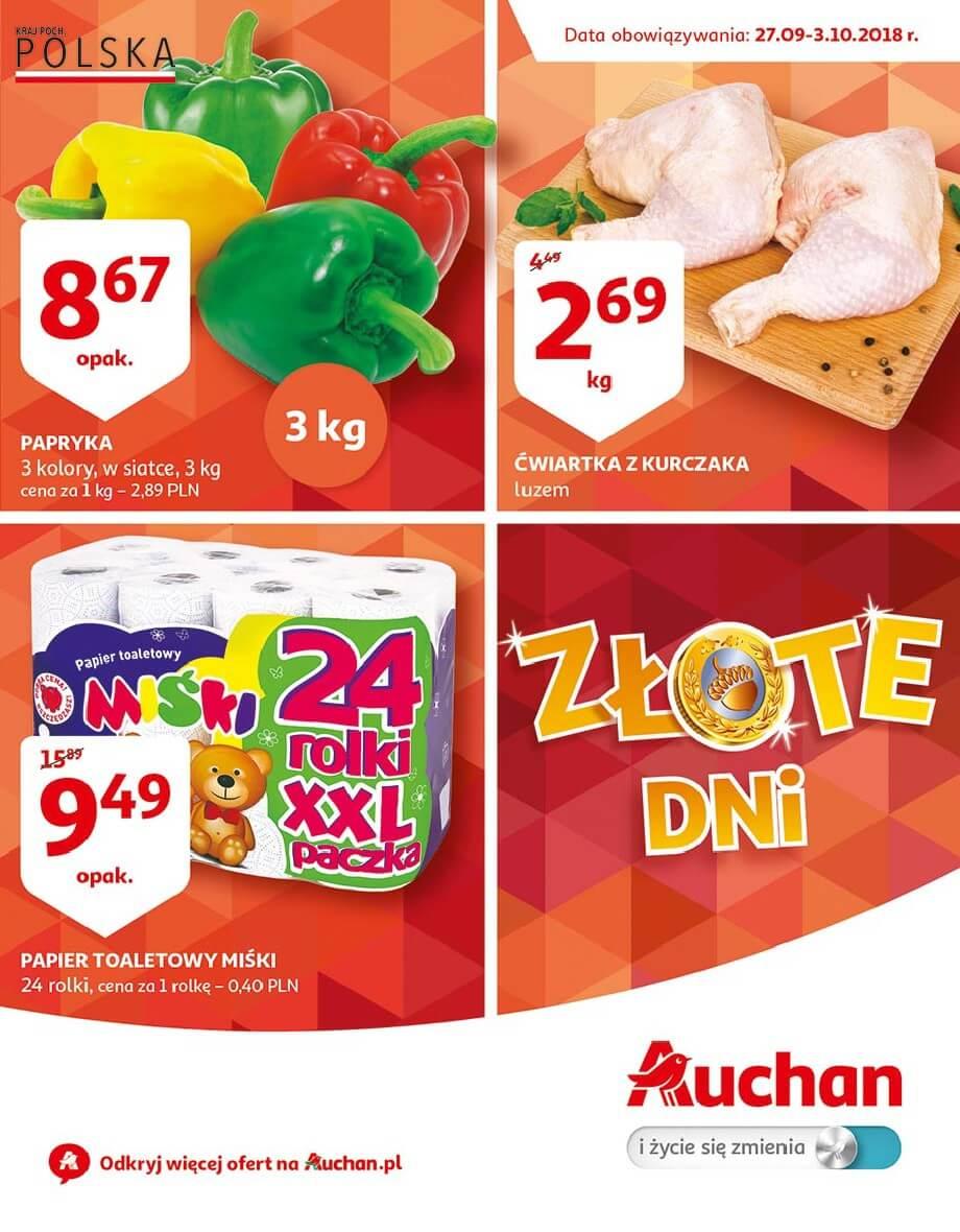 Auchan, gazetka do 03.10.2018