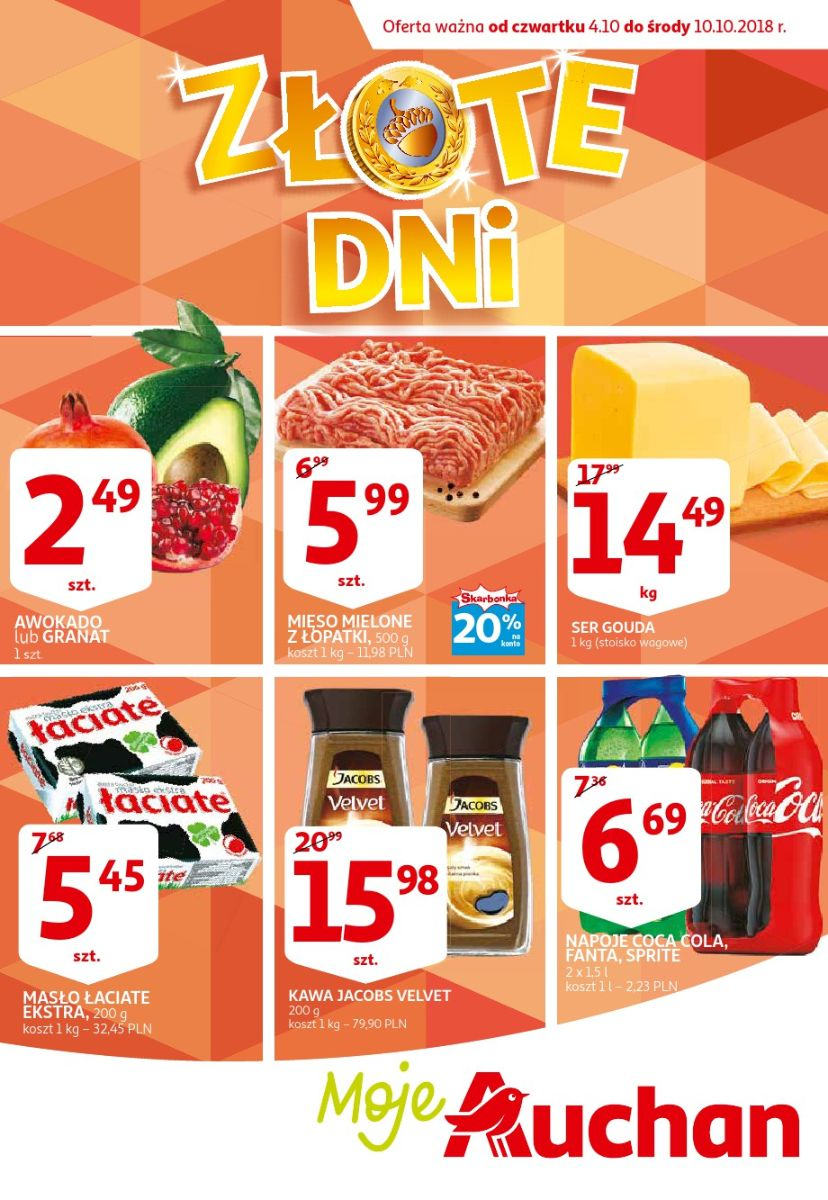Auchan, gazetka do 10.10.2018