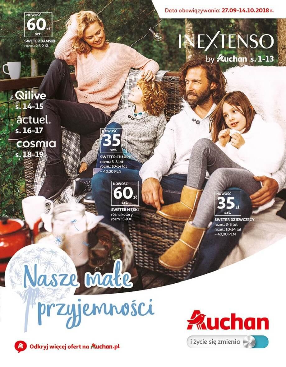 Auchan, gazetka do 14.10.2018