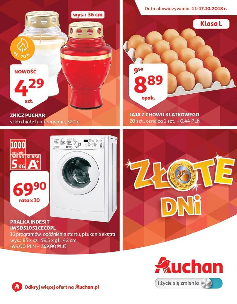 Auchan, gazetka do 17.10.2018