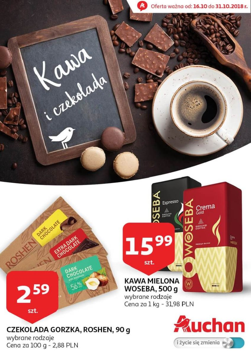 Auchan, gazetka do 31.10.2018