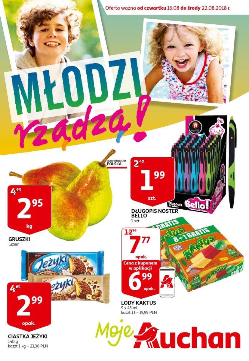 Auchan, gazetka do 22.08.2018