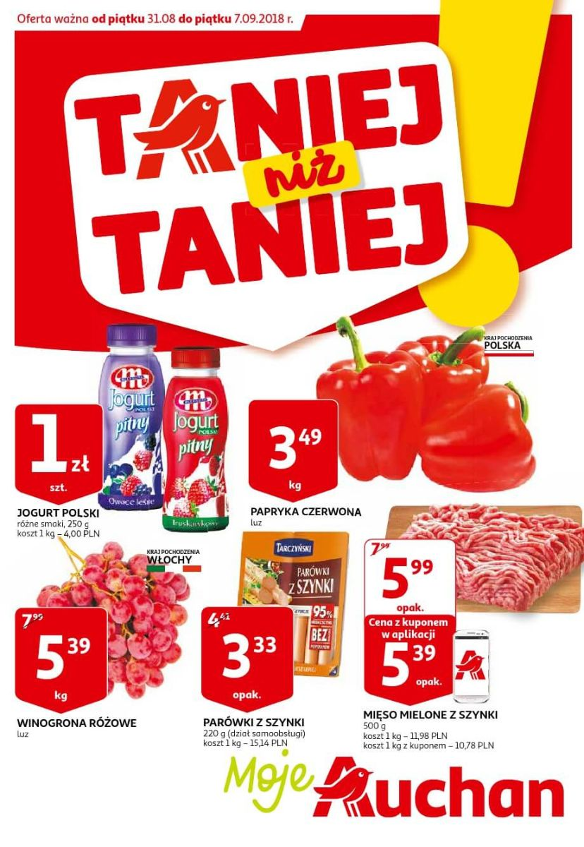 Auchan, gazetka do 07.09.2018