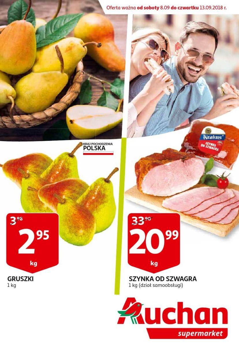 Auchan, gazetka do 13.09.2018