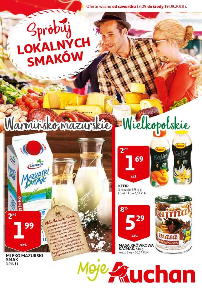 Auchan, gazetka do 19.09.2018