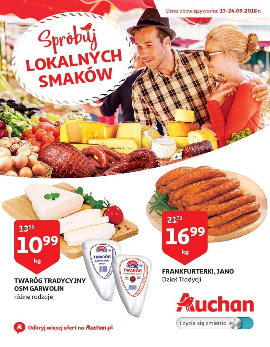 Auchan, gazetka do 24.09.2018