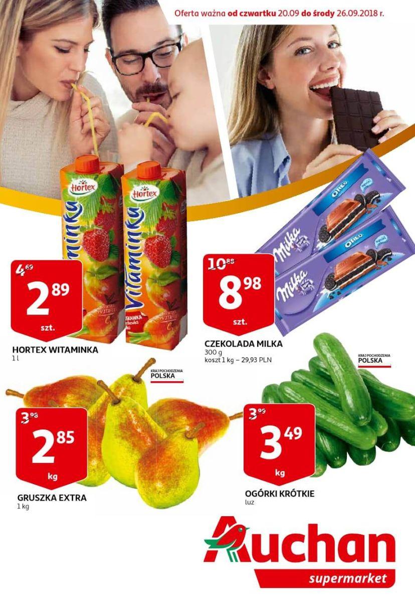 Auchan, gazetka do 26.09.2018