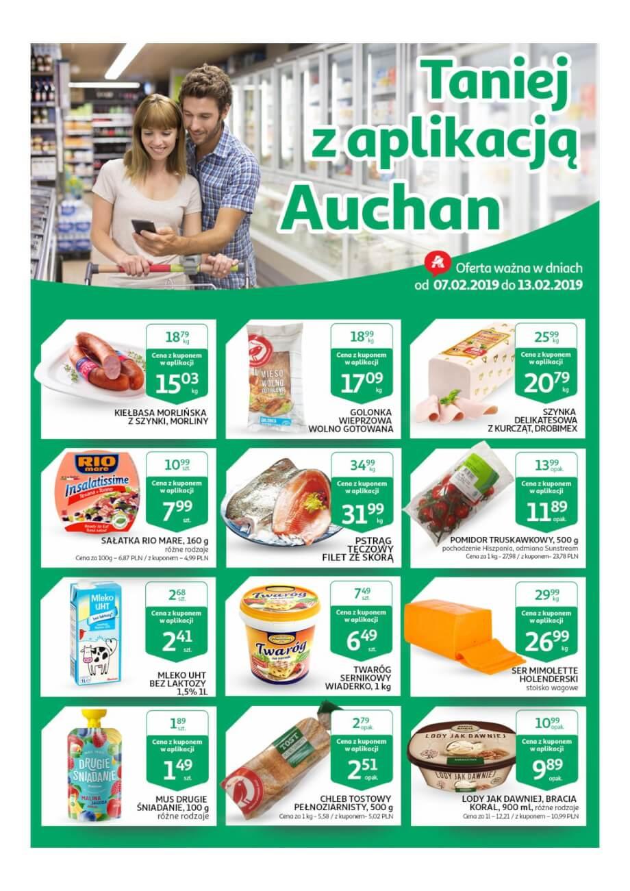 Auchan, gazetka do 13.02.2019