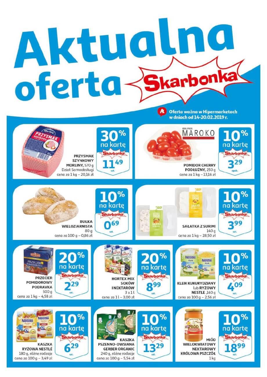 Auchan, gazetka do 20.02.2019