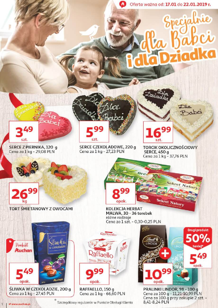 Auchan, gazetka do 22.01.2019