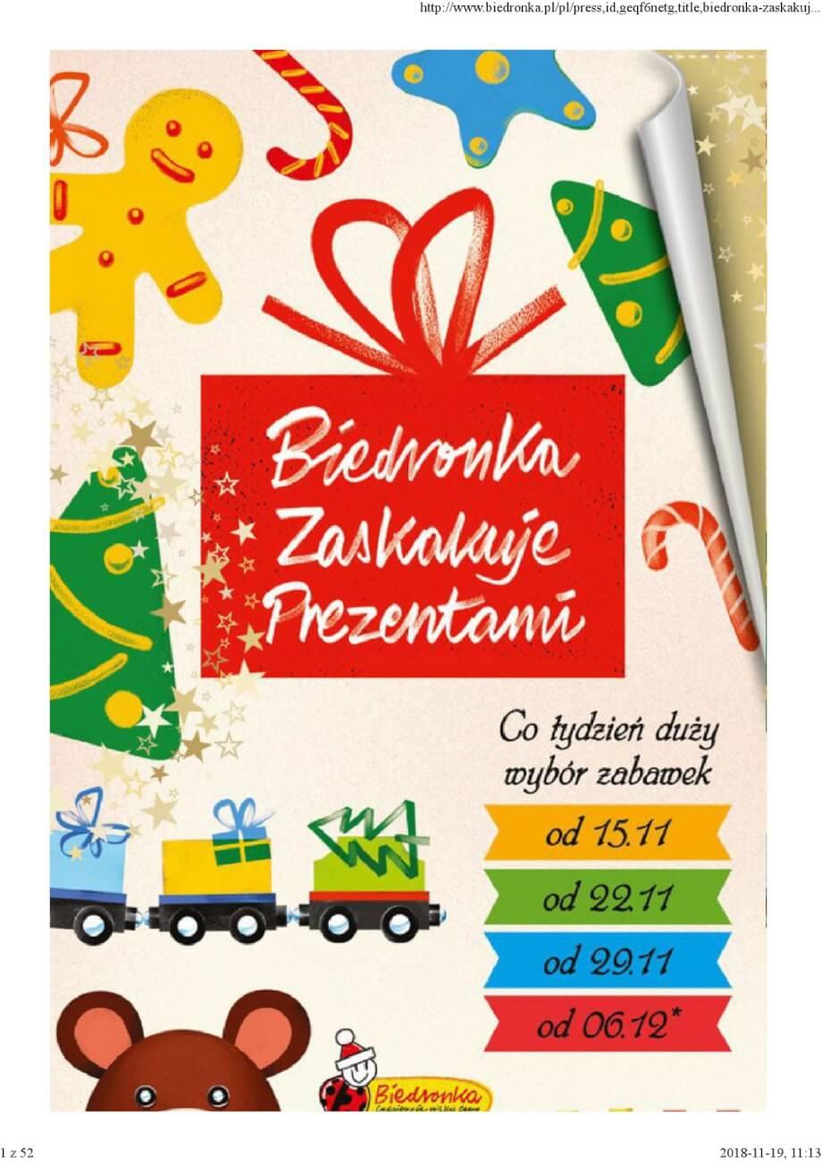 Biedronka, gazetka do 19.12.2018