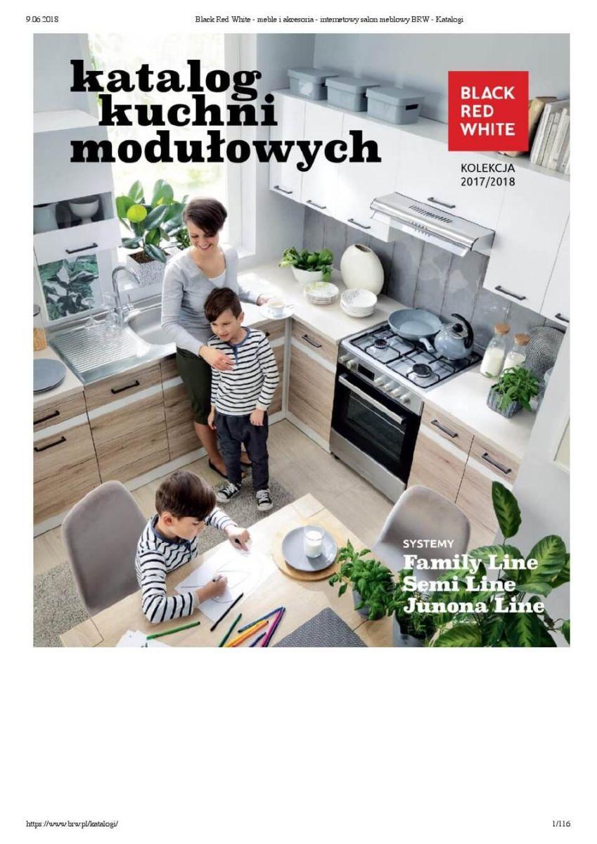 Black Red White - Meble modułowe, katalog do 31.12.2018