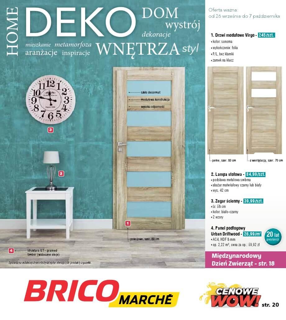 Bricomarche, gazetka do 07.10.2018