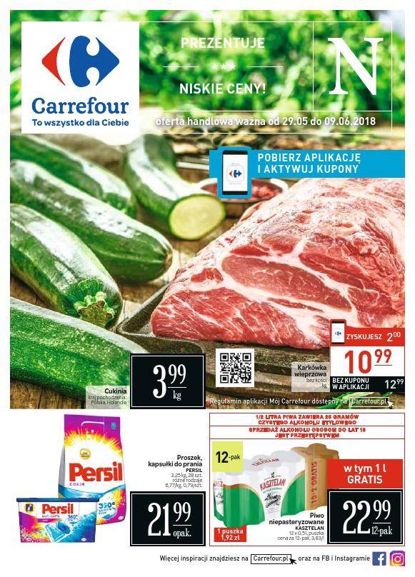 Carrefour, gazetka do 09.06.2018