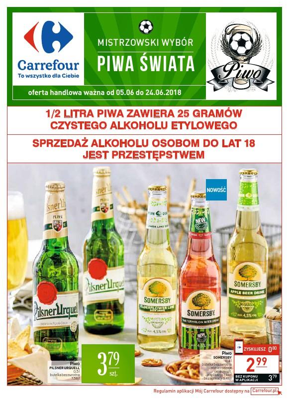 Carrefour, gazetka do 24.06.2018