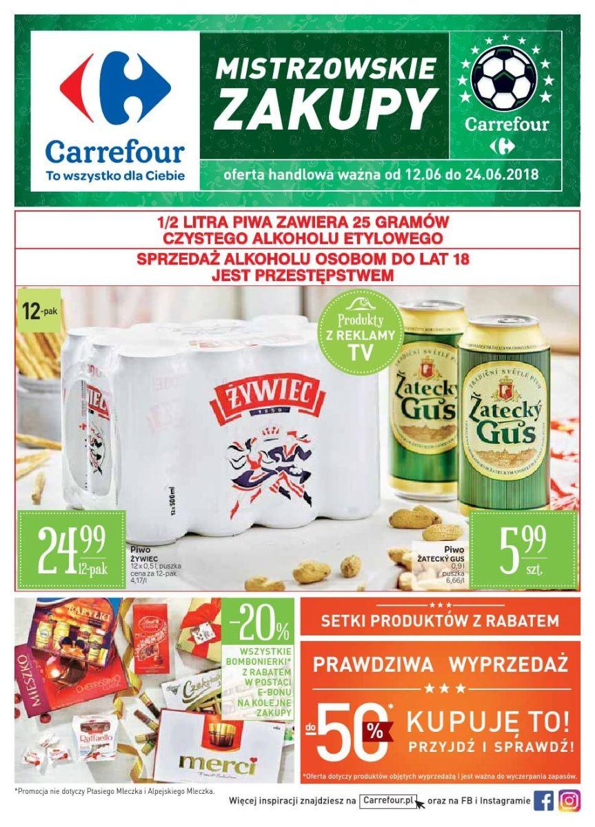 Carrefour, gazetka do 24.06