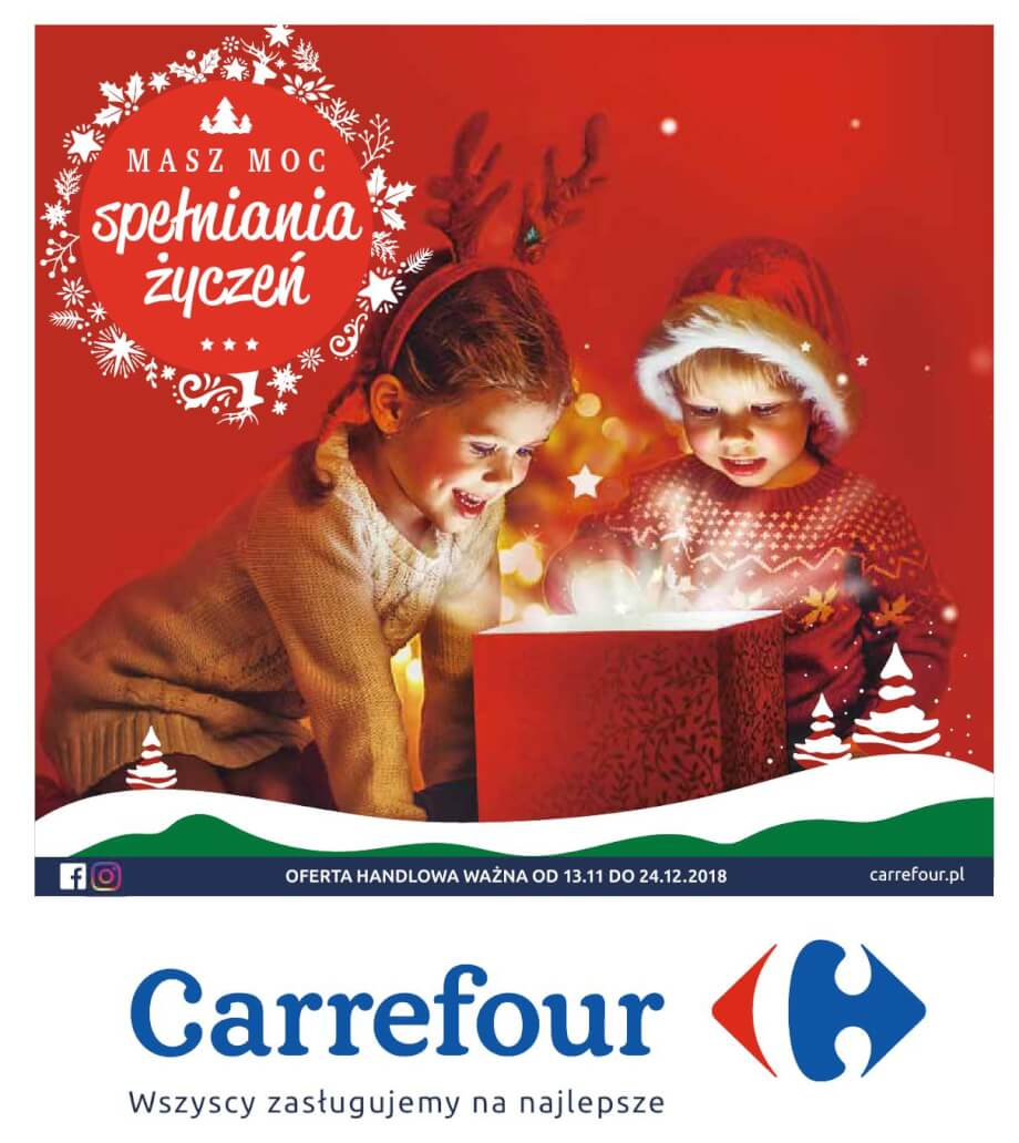 Carrefour, gazetka do 24.12.2018