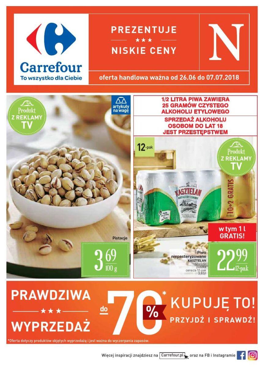 Carrefour, gazetka do 07.07.2018