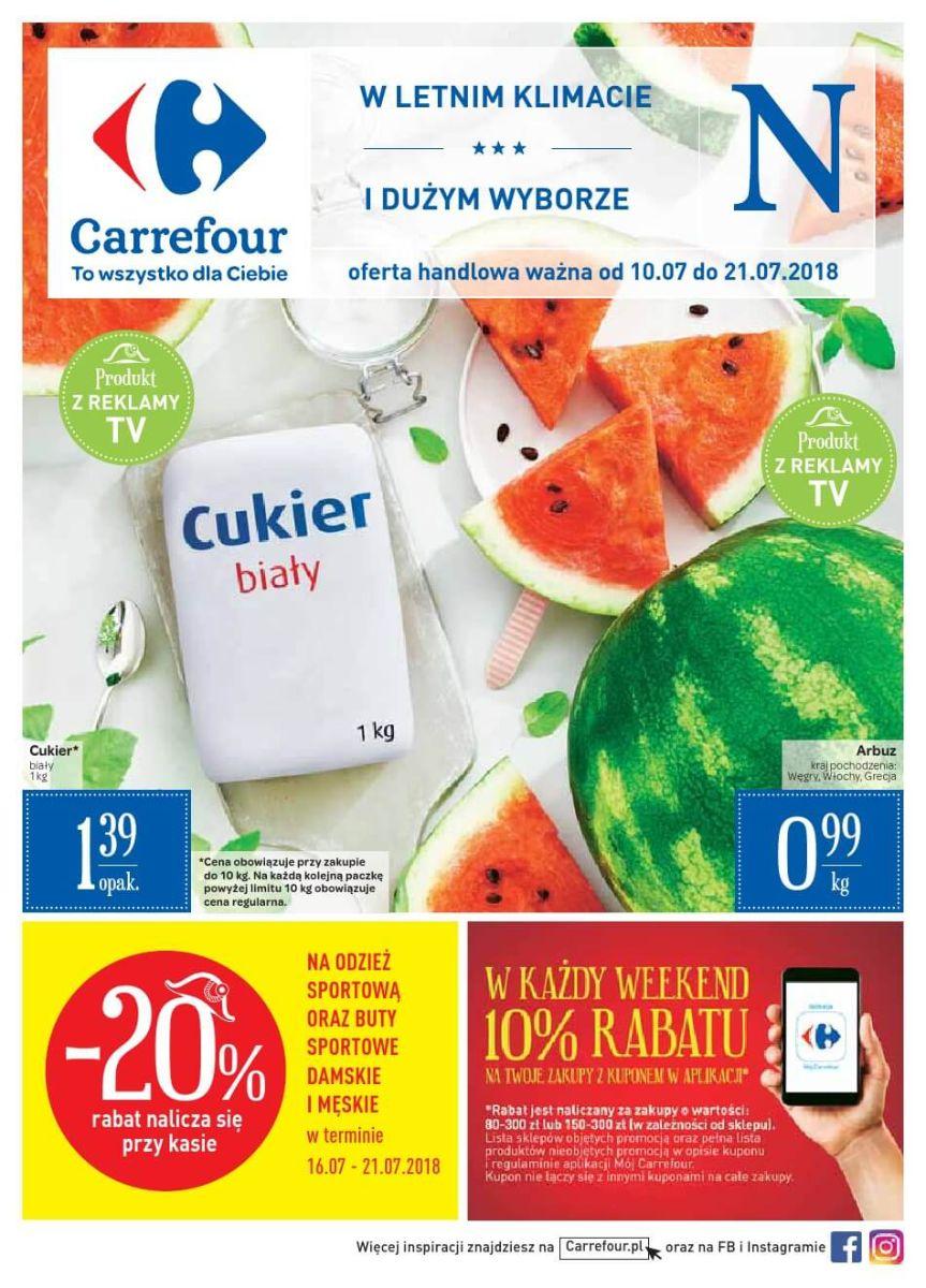 Carrefour, gazetka do 21.07.2018