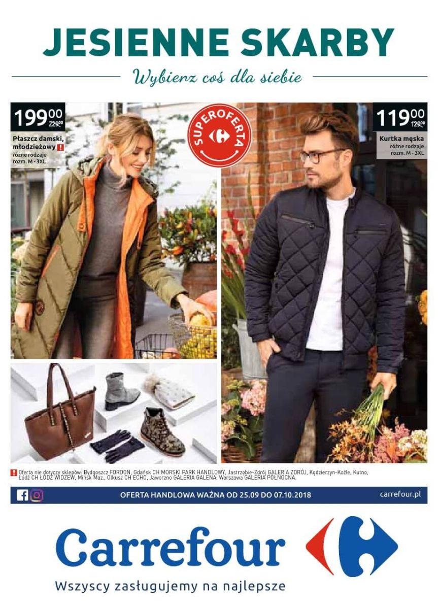 Carrefour, gazetka do 07.10.2018