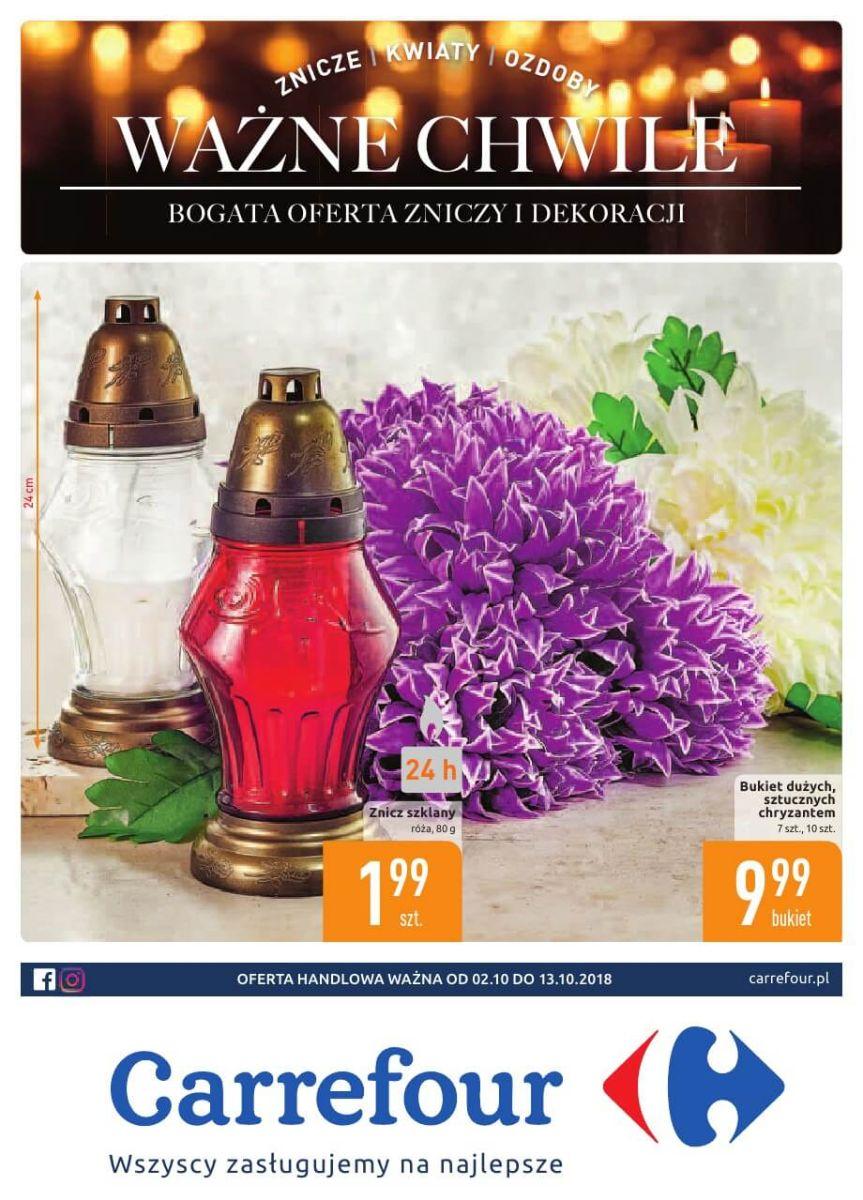Carrefour, gazetka do 13.10.2018