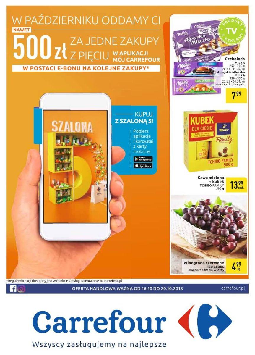 Carrefour, gazetka do 20.10.2018