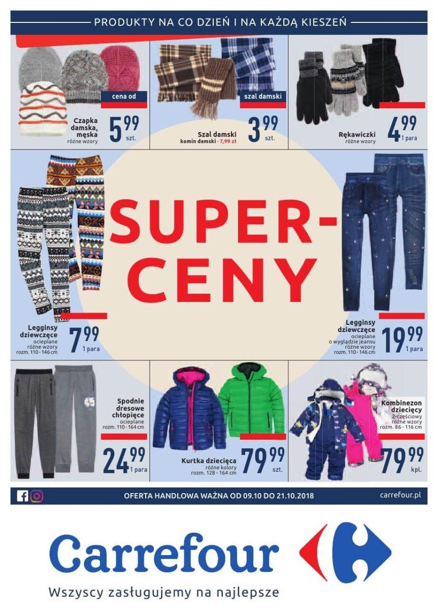 Carrefour, gazetka do 21.10.2018
