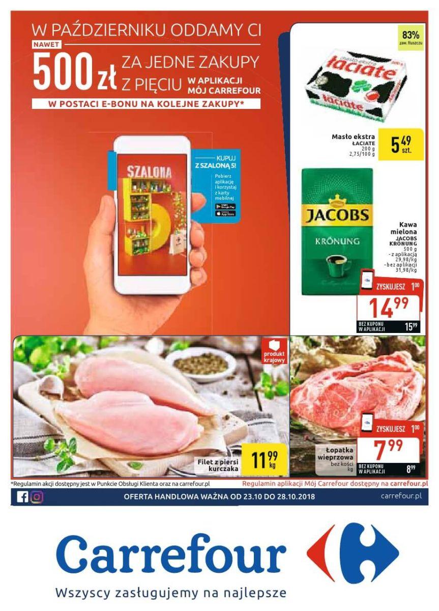 Carrefour, gazetka do 28.10.2018