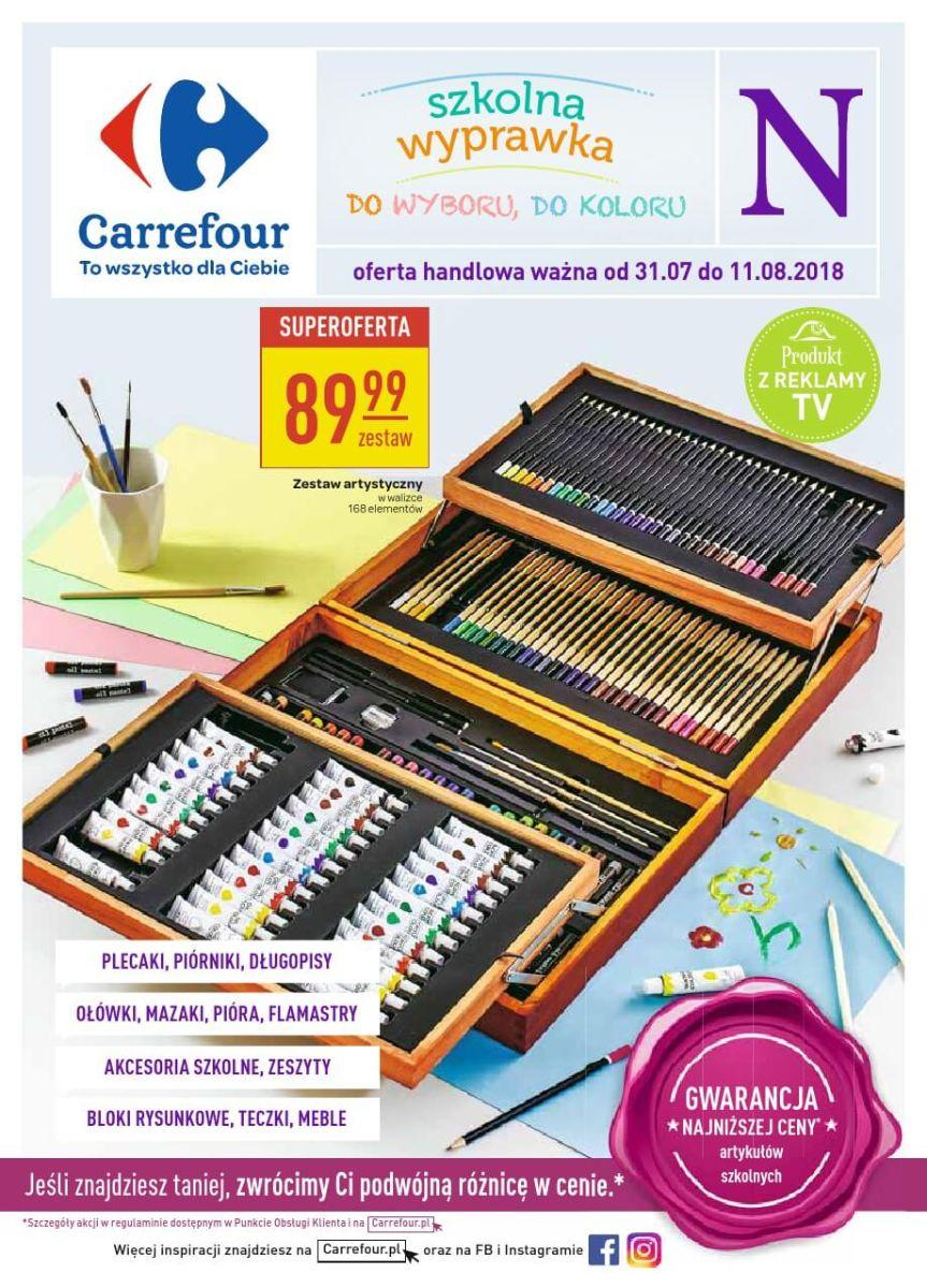 Carrefour, gazetka do 11.08.2018