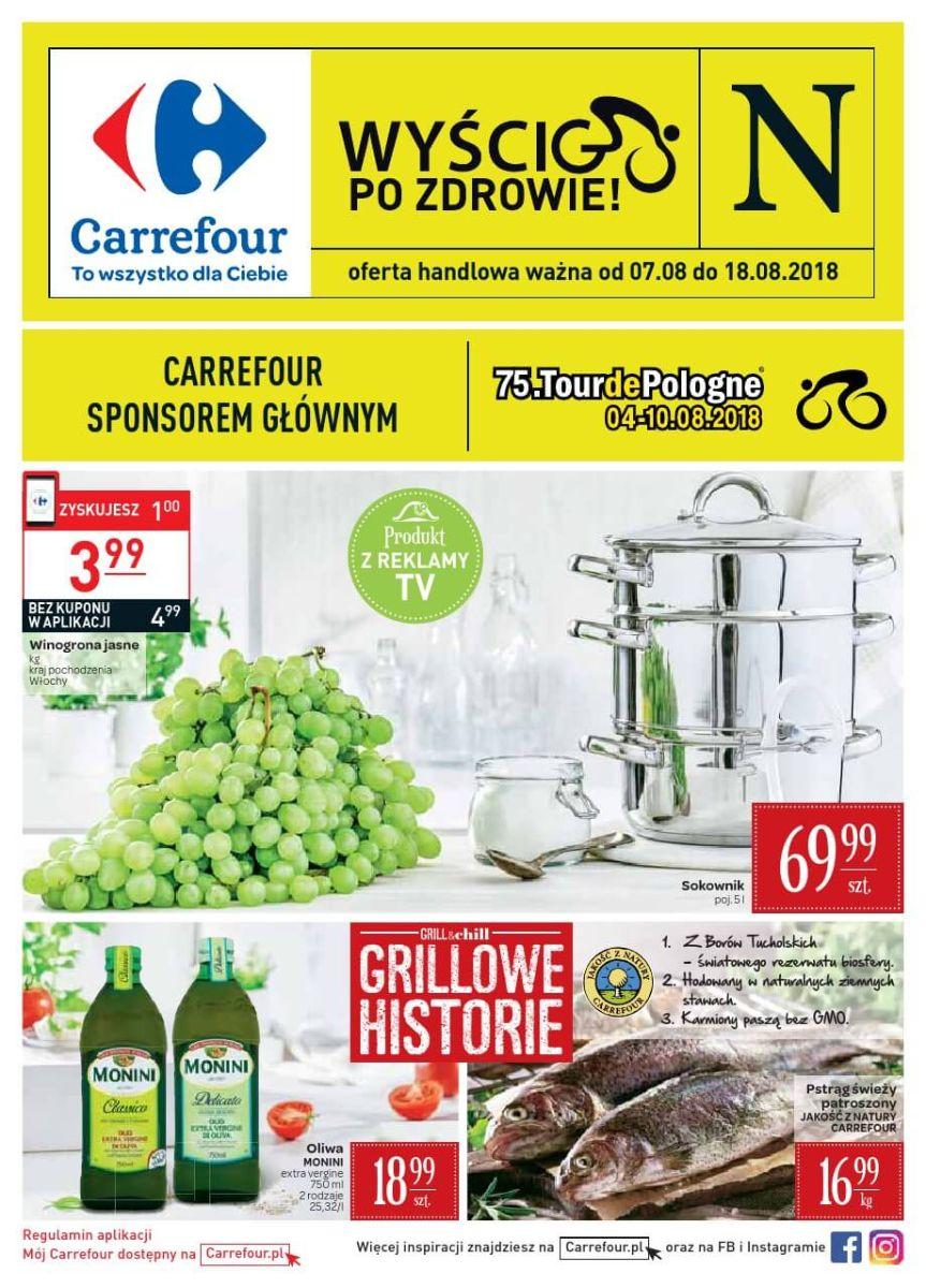 Carrefour, gazetka do 18.08.2018
