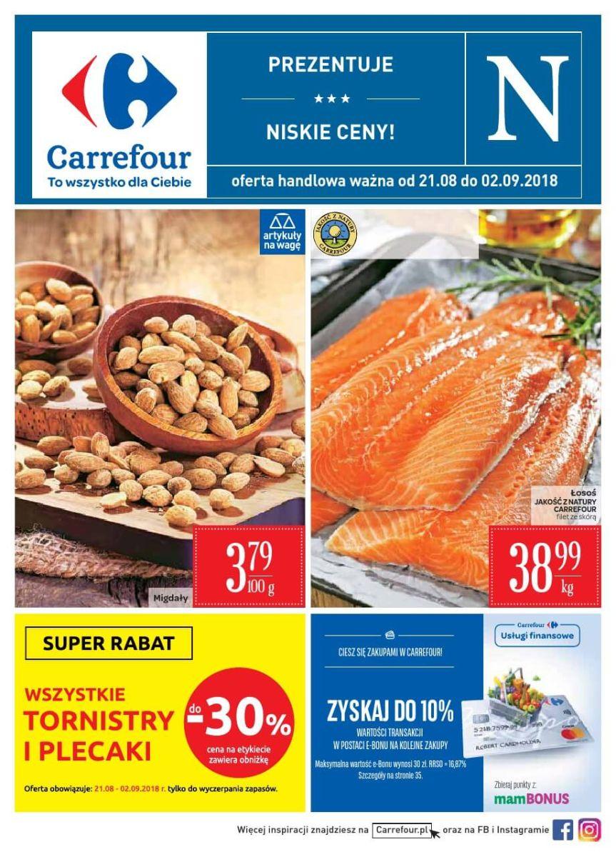 Carrefour, gazetka do 02.09.2018