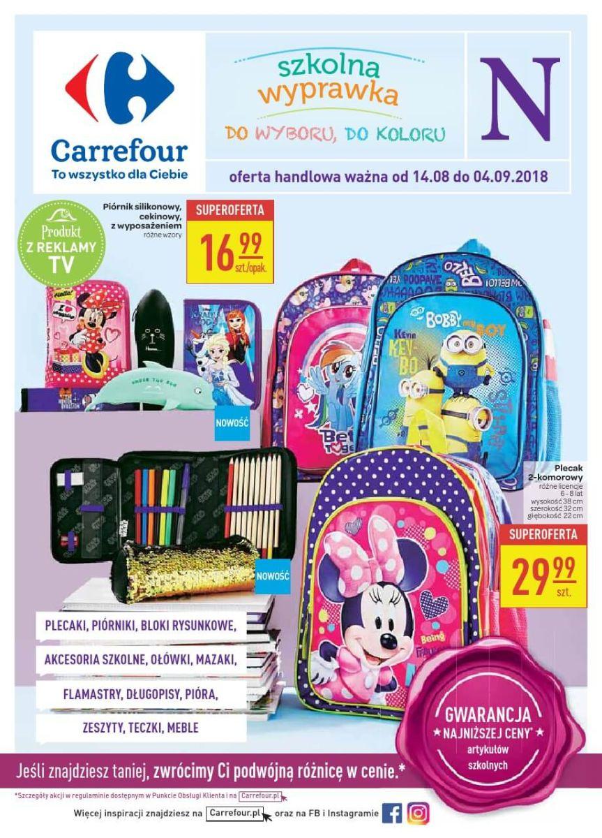 Carrefour, gazetka do 04.09.2018