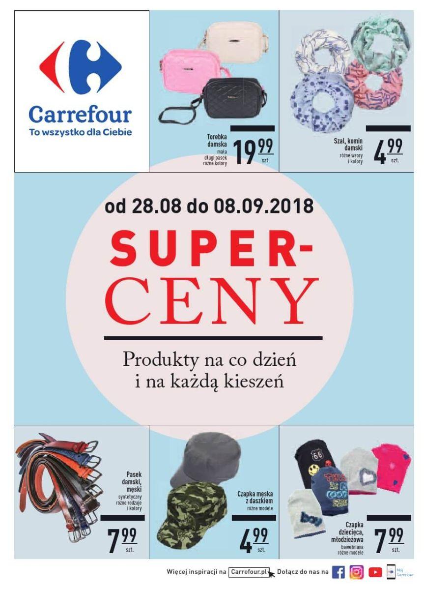 Carrefour, gazetka do 08.09.2018